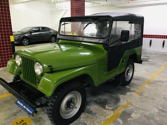 Ford Jeep 4x4 1974 Todo Original 68.000 Km Incrível! 2º Dono