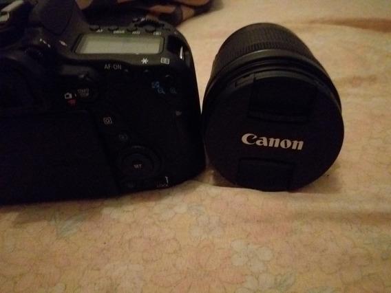 Câmera Digital Profissional Canon 80d + Lente Efs 13-185mm
