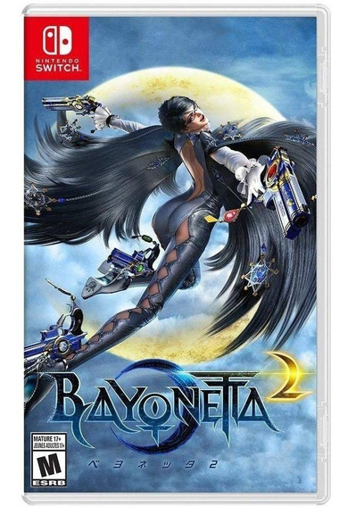 Bayonetta 2 Switch Mídia Física - Semi-novo