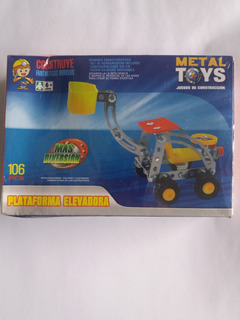 Juego De Construcción Metal Toys Plataforma Elevadora