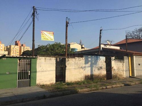 Terreno À Venda, 350 M² Por R$ 585.000,00 - Parque Das Nações - Santo André/sp - Te1140