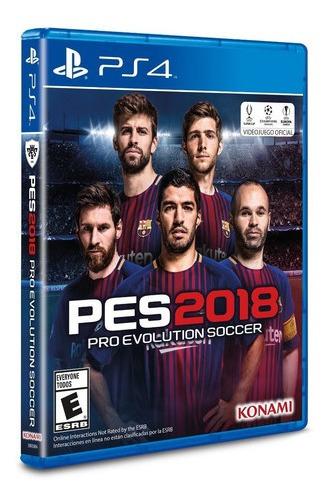 Pro Evolution Pes 2018 Ps4 Formato Fisico Original