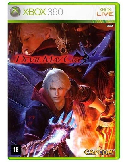 Devil May Cry 4 Xbox 360 Mídia Física Lacrado Nfe