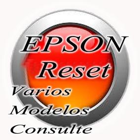 Resets Para Impressoras Epson, Varios Modelos Disponiveis