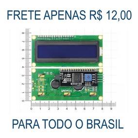 Display Lcd Azu 16x2 1602 Com I2c Pic Atmel Arduino