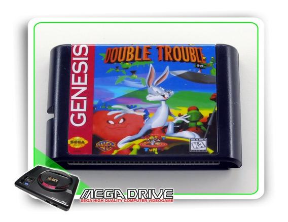 Bugs Bunny In Double Trouble Sega Mega Drive Novo