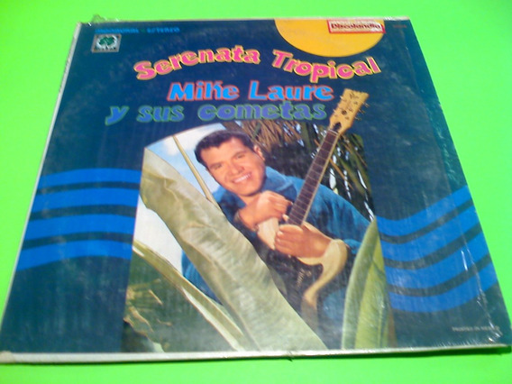 Disco Lp Mike Laure Y Sus Cometas Serenata Tropical