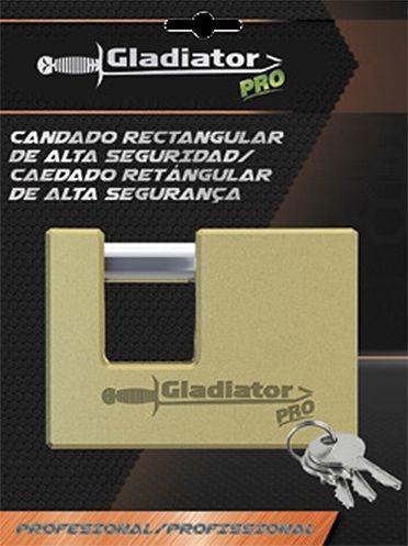 Candado De Alta Seguridad Gladiator Profesional Cas870 70mm