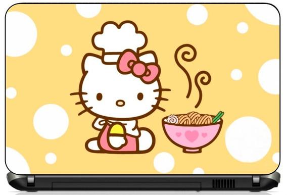 Adesivo Skin Notebook Cartoon Hello Kitty Desenhos Disney
