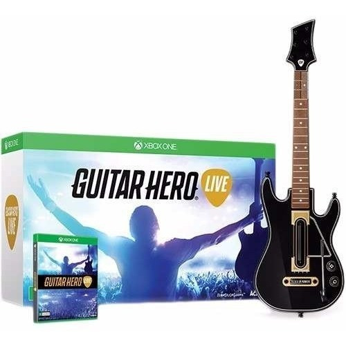 Guitar Hero Live Bundle Guitarra E Jogo Xbox One Original