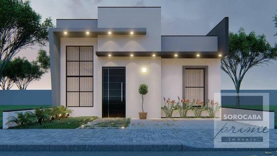 Casa Com 2 Dormitórios À Venda, 72 M² Por R$ 310.000 - Condomínio Terras De São Francisco - Sorocaba/sp - Ca0067