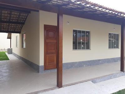 Casa 3 Quartos (1 Suíte) 145m² De Construção No Cond. Mataruna Em Itapeba, Maricá - Ca3257