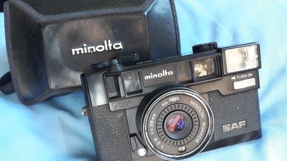 Máquina Fotográfica Minolta Hi-matic Af