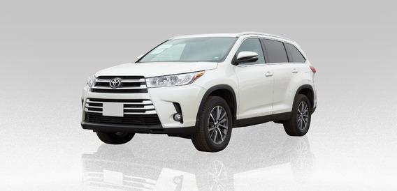Toyota Highlander Xle 3.5l 2019 Blanco 5 Puertas