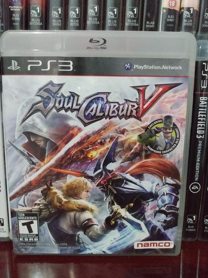 Soul Calibur V Completo Ps3 | Parcelamento Sem Juros