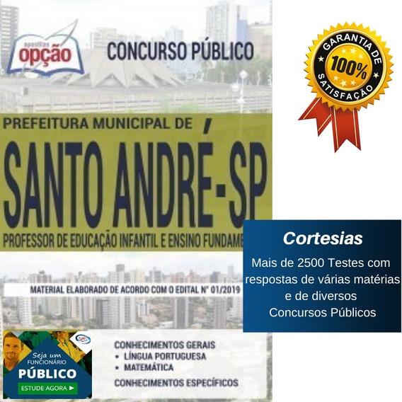 Apostila Prefeitura Santo André Professor Ensino Fundamental