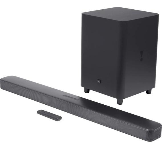 Nova Jbl Bar 5.1 Soundbar 4k Home 550w (bivolt) 1ano Garant