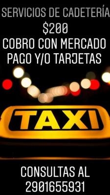 Taxi , Cadetería