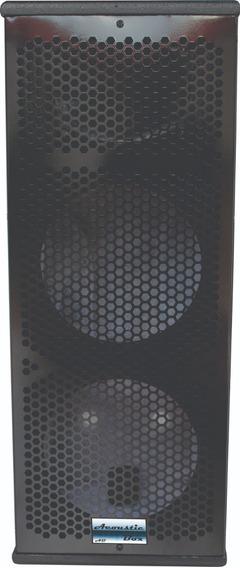 Gabinete De Caixa Acústica Coluna P/ Uso Com 2x8 +ti