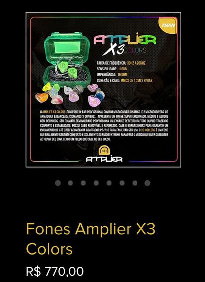 Fone Amplier X3 (colors)