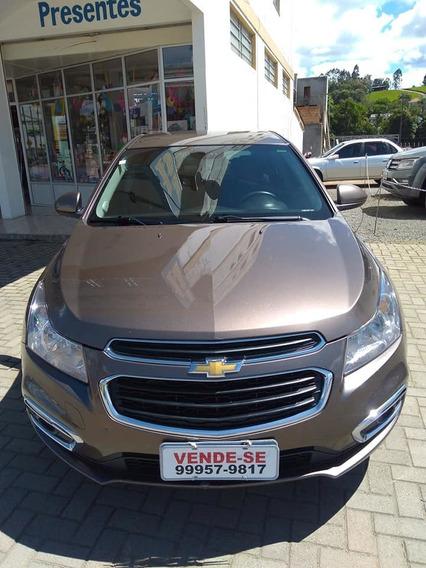 Chevrolet Cruze Lt Sport Automático Couro Rodas 17