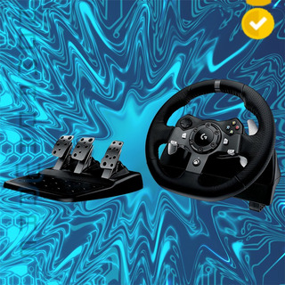 Nw Volante + Pedales Logitech G920 Driving Force Xbox One+pc