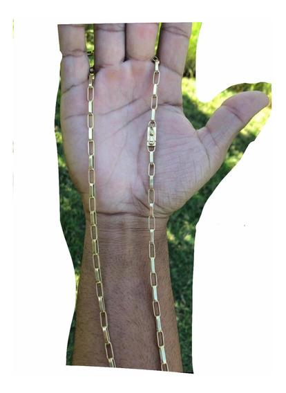 Corrente Moeda Antiga Material Muito Bom (fecho Gaveta) M3