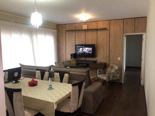 Apartamento Com 3 Dormitórios Para Alugar, 116 M² Por R$ 3.833,23/mês - Baeta Neves - São Bernardo Do Campo/sp - Ap3142