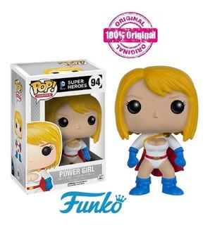 Funko Pop Dc Super Heroes Power Girl