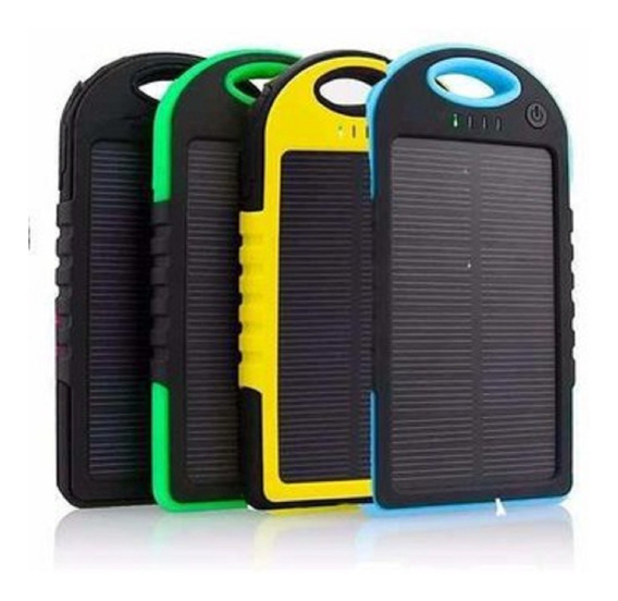 Power Bank Lampara Solar 12000 Mah Bateria Celular