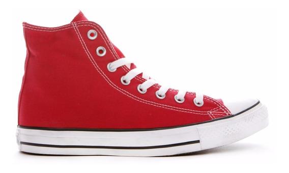 Zapatillas Mujer Bota Converse All Star Hi Rojo