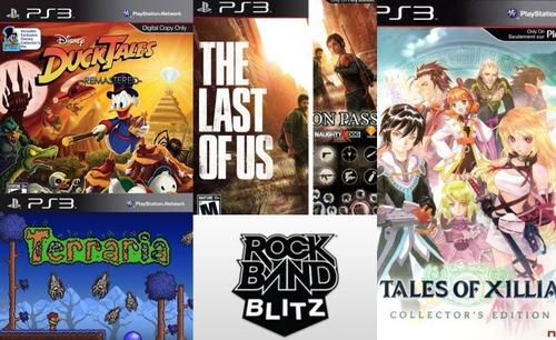Imagen 1 de 1 de The Last Of Us + Ducktales + Terraria + Juegos Para Ps3