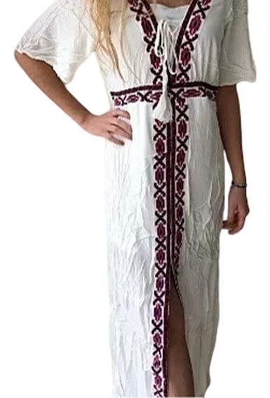 Vestidos Importados, Bambula, Largos, Guía Bordada...