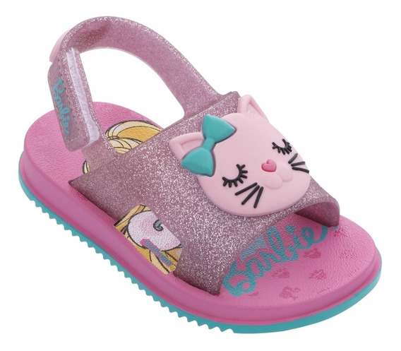 Sandália Baby Barbie Fashion Cat 22150