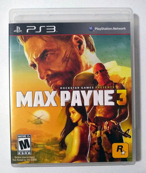 Max Payne 3 Ps3 Mídia Física