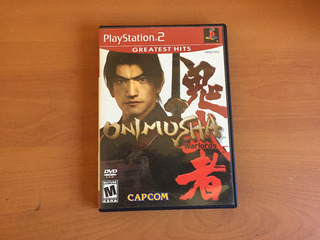 Onimusha Warlords Ps2 + Manual