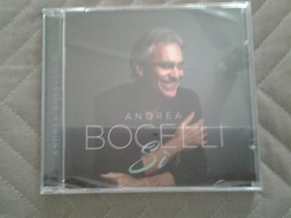Cd Andrea Bocelli Si Novo Lacrado De Fabrica 2018