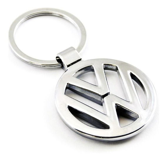 Llavero Metalico Vw Logo Fox Bora Golf Gol Vento Up Suran