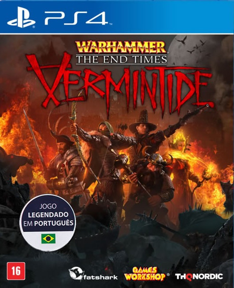 Warhammer The End Times Vermintide - Português [ps4] Lacrado