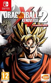 Jogo Nintendo Switch Dragon Ball Xenoverse 2 Midia Fisica