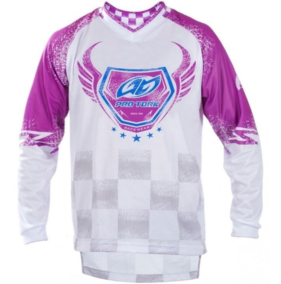 Remera Motocross Insane 5 Pro Tork Adulto Sportbay