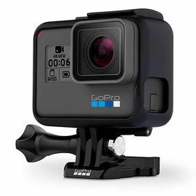 Câmera Gopro Hero 6 Black 12mp 4k Wi-fi E Comando De Voz