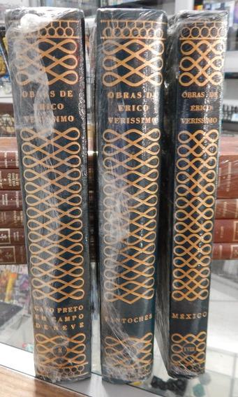Lote 3 Livros Obras De Érico Verissimo - Capa Dura