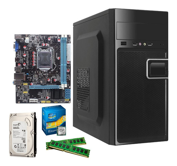 Computador Cpu Core I3 4gb Ddr3 Gabinete Gamer Home Work
