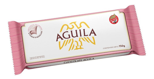 Tableta Chocolate Familiar Aguila X 150 Gr - Lollipop