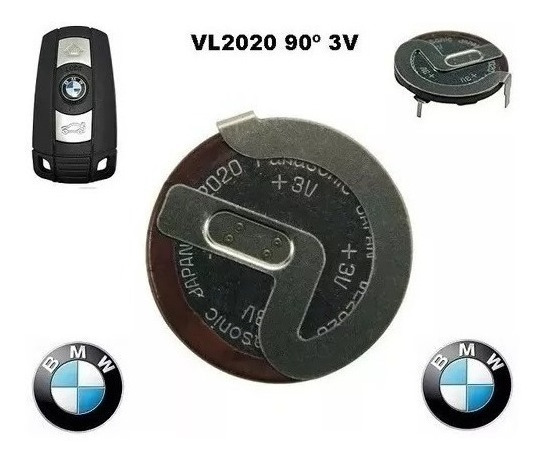Bateria Vl2020 Panasonic 3v 20mah Recarregável Bmw Cod-1330