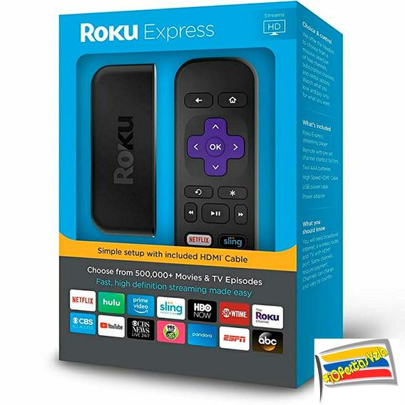 Reproductor Streaming Smart Tv Roku Express Netflix Youtube
