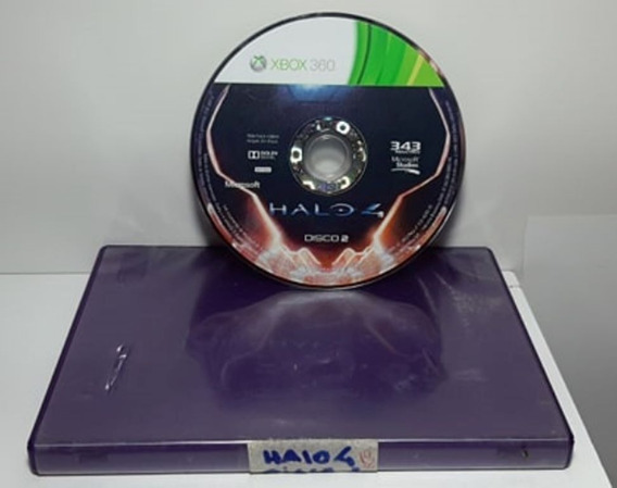 Jogo Game Halo 4 Xbox 360 Mídia Física * Só Disco 2 *