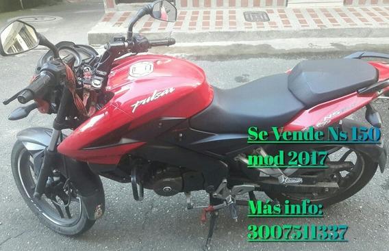 Ns 150 Roja Modelo 2017