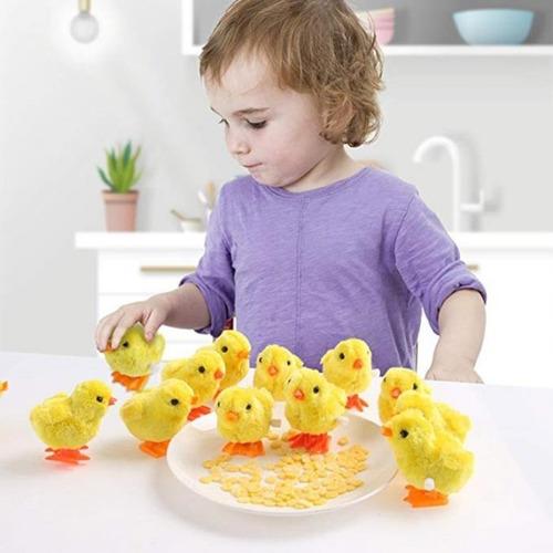 Pollo Pollito Juguete De Cuerda Para Niños Divertido Bebes Mercado Libre